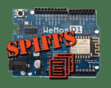 Utilisation de la mémoire SPIFFS sur ESP8266 - Les Carnets de Byfeel